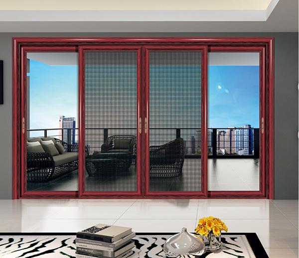 铝合金门窗型材四个生产工艺流程