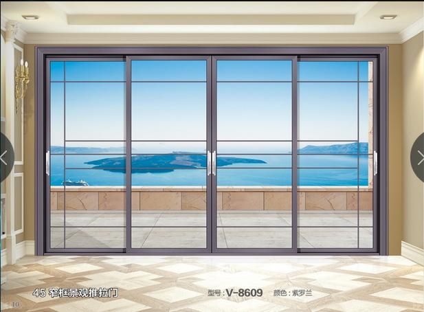 窄框景观推拉门系列